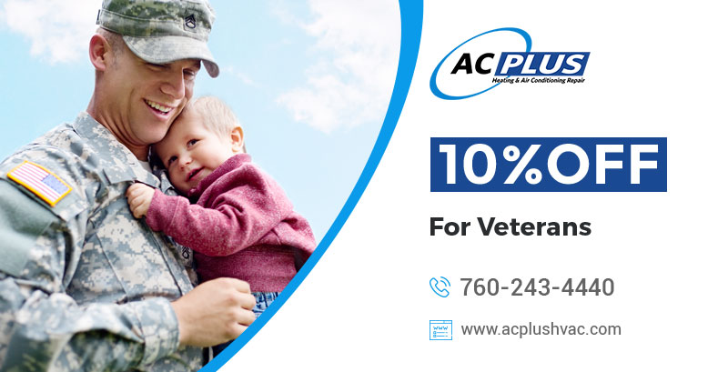10% Off For Veterans